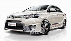 Toyota vios trd bodykit & spoiler paint