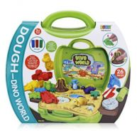Dough-dino world suitcase toys