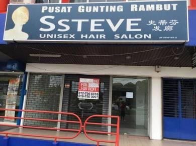 Shoplot for rent, Jalan Genuang, Segamat, Johor