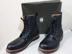 G star leather boots black UK8