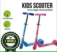 Fordable Kid Scooter LED's Light Wheel (28)