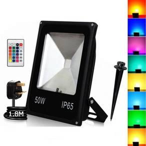 50W RGB LED Flood Light Wall Washer - High Quality