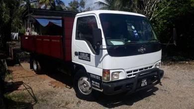 Hicom 17ft 4.3cc diesel hijau 2003