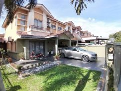 END LOT, 8 kaki EXTRA LAND, DOUBLE STOREY, RENOVATED, Saujana Utama