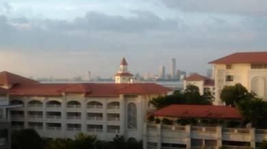 Andaman Quayside Tanjung Tokong E&O 914sf Move in Condition