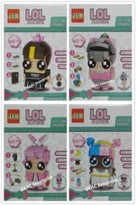 L.O.L. LOL Surprise Girl Dolls Lego Building Block