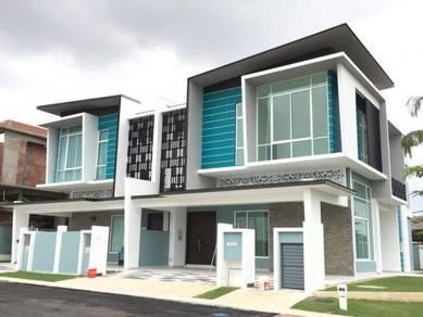New 2 sty terrace house dengkil cyberjaya sepang [ below market value]