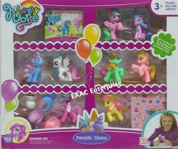 Small and Cute My Little Pony 8 in 1 Doll sets