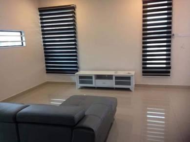 Promenade Cluster 2 storey House Taman Tun Aminah, Full Loan