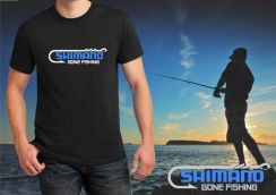 SHIMANO Gone Fishing TShirt Bko Siap Pos Laju