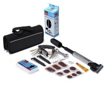 18 in 1 Bicycle Repair Tools Kit With Tube Bag Glu