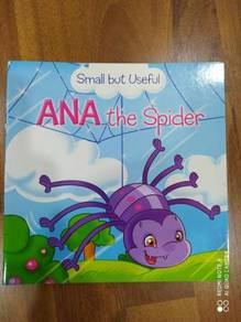 Kids story book Ana the spider