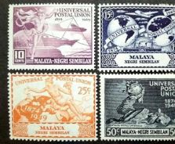 Malaya 1949 Negri Sembilan Universal Postal Union