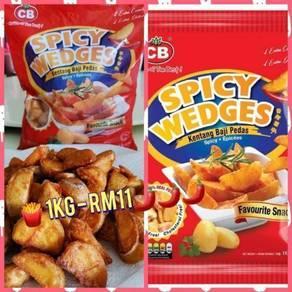 Spicy wedges 1kg