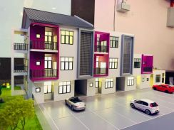 Freehold Malay reserved townhouse Sg ramal