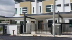 Big terrace withzero down payment at 12th mile Kuching-Serian Sarawak
