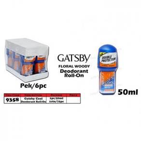 9358 Gatsby Cool Deodorant Roll-On 50ml