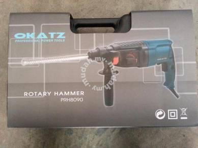 Okatz 3mode Rotary Hammer FREE drill bit&carbon