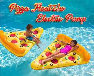 Pizza float