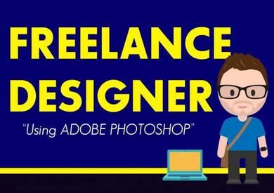 Menyediakan perkhidmatan design secara freelance