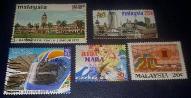 Setem Malaysia ( 5 pcs Set 31)