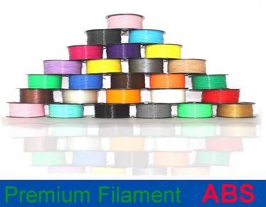 High Quality 3D Printer Filament ABS 1.75mm 1KG