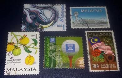 Setem Malaysia ( 5 pcs Set 33)