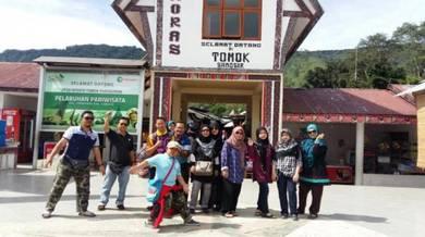 Tour around Medan and Brastagi