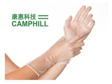PVC Vinyl Disposable Non-sterile Medical Glove