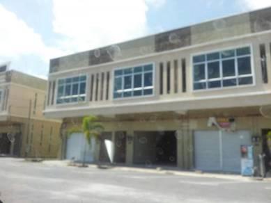 Shoplot 2 tingkat baru di Gong Badak (Negotiable)