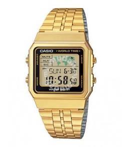 Watch- Casio A500WGA-1 GOLD -ORIGINAL