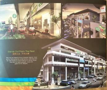 New shop lot facing main road , oppsite aeon mall & tesco