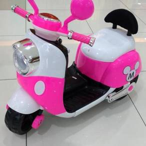 Baby bike for kids motor scooter mini mouse* pink;
