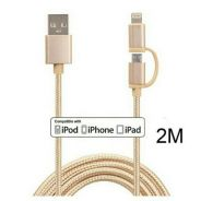 Fast Charging Nylon Braided Mobile Phone Cables