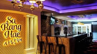 Lounge, bar, karaoke within a Club House for sale