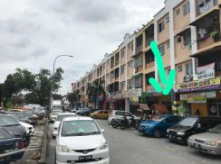 Klang Raja Uda , Freehold , Ground Floor Shop Apartment 20x90