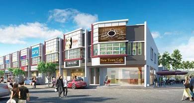 FREEHOLD 2 storey shop office at Bertam, Tanjung Minyak BRAND NEW