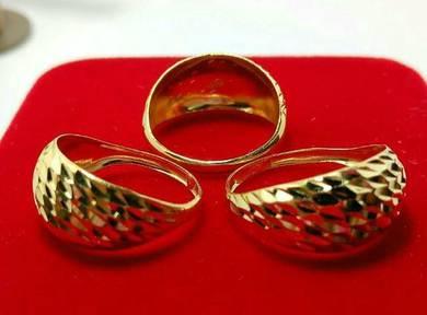 Cincin lintah emas 916