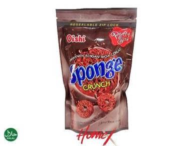 Oishi Sponge Crunch - Chocolate Flavor (120g)