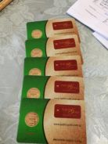 ¹/² Dinar Public Gold 5 pieces