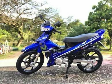 Replika Moto Yamaha 125zr . Scale 1:12
