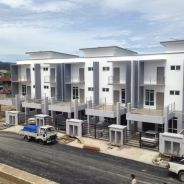 New and Completed Triple Storey taman tunoh Penampang Sabah