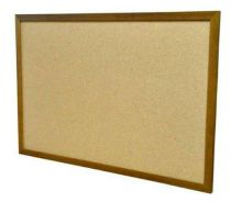 Cork Board H4'xW5'