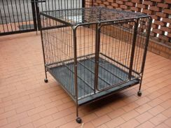 New BIG Cages Hammertone Silver