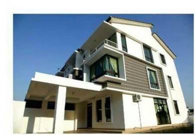SP Setia 3 Storey terrace Corner Land 3000sf, Sg. Ara