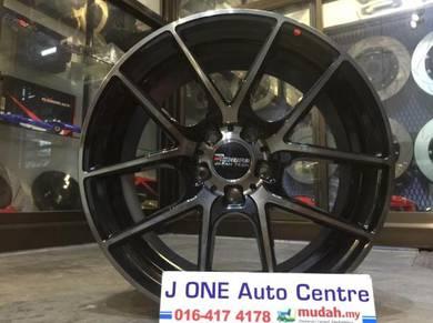 Tokura wheels 18inc accord odyssey estima camry