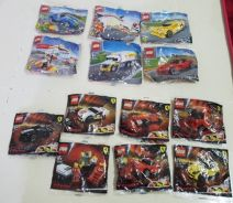 Lego shell 2011 and 2013 collection