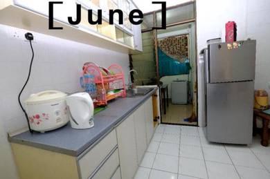 Midlands condominium , Fully furnished near one stop Pulau tikus