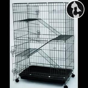 (Medium) Cat Cage 3 TGK Sangkar Kucing