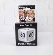 Cube Timer Alarm